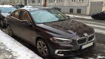 Flagra BMW Série 1 Sedan