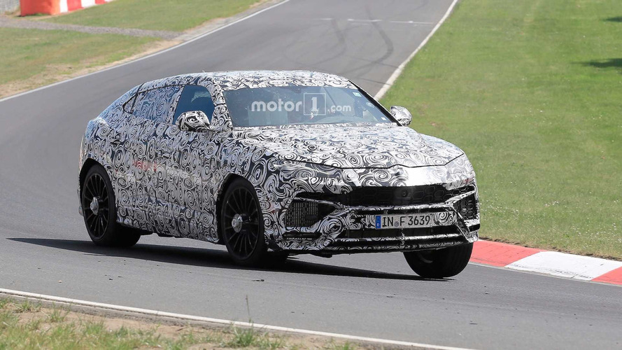 Lamborghini Urus Spied At Nurburgring For First Time