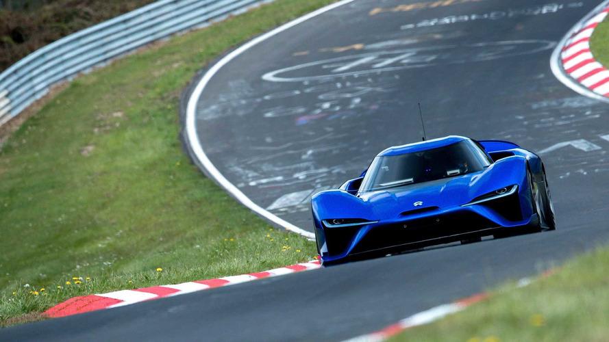 Nio EP9 esmaga recorde de carros de produção em Nürburgring