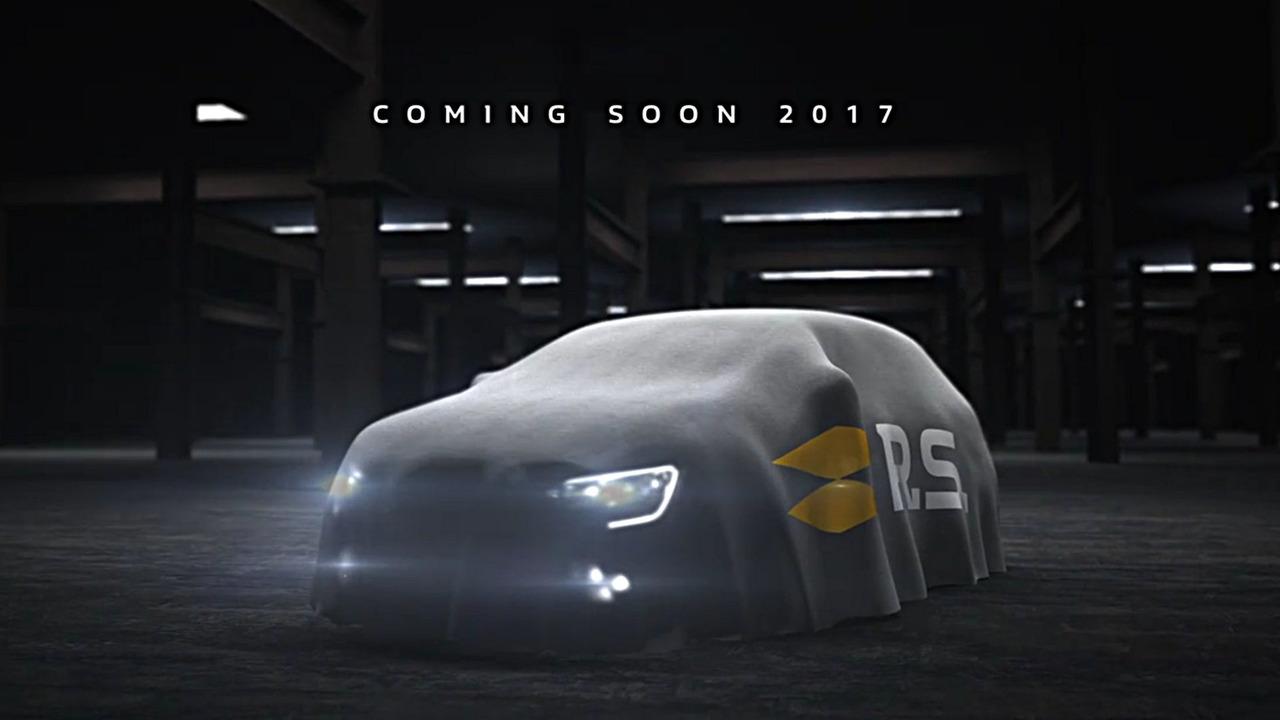 Renault Mégane RS 2017 teaser