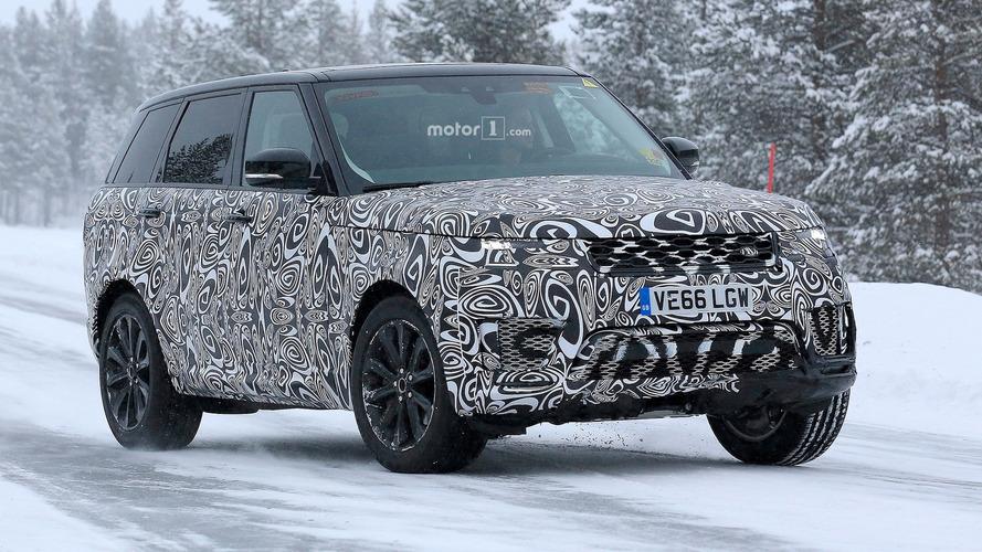 Makyajlı Range Rover Sport tekrar karşımızda