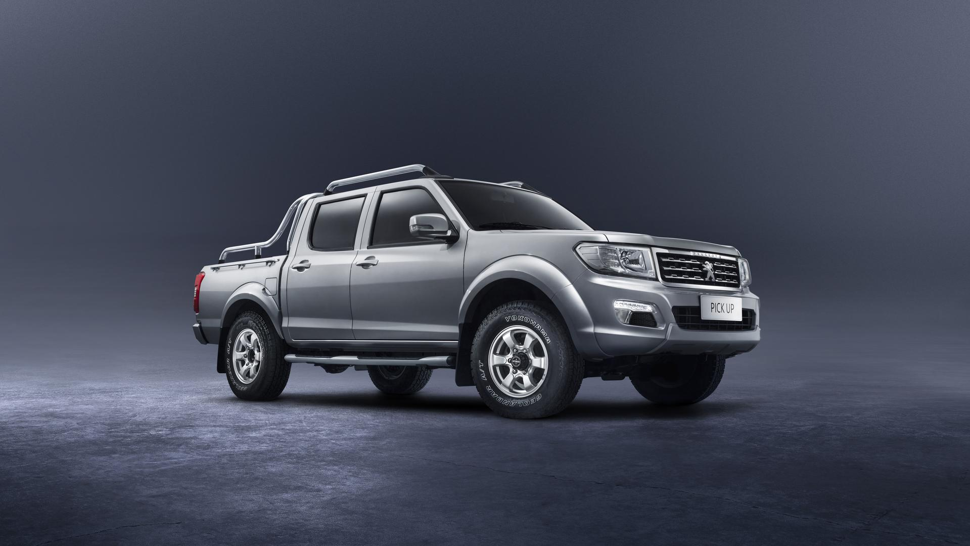 Peugeot Back In The Pickup Truck Game With The New… \'Pick Up\'