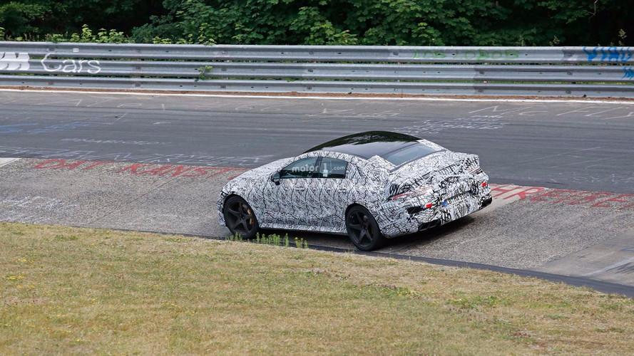 Mercedes-AMG GT de cuatro puertas: fotos espía