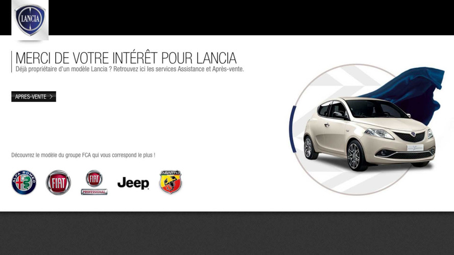 Lancia ferme ses sites internet