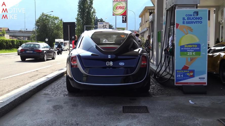 VIDÉO - La Rolls-Royce Sweptail aperçue dans la rue et en France