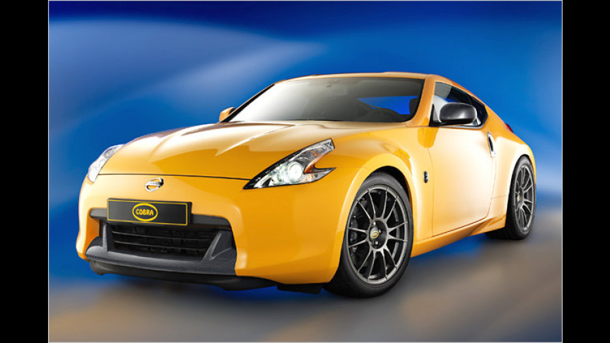 Heiße Optik, mehr Fahrdynamik: Cobra N+ tunt Nissan 370Z