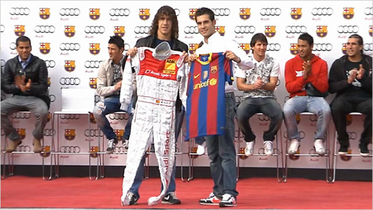 Fahrzeugübergabe FC Barcelona