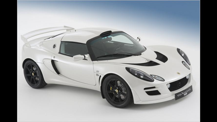 Facelift für den Leichtbau-Briten: Lotus überarbeitet Exige S