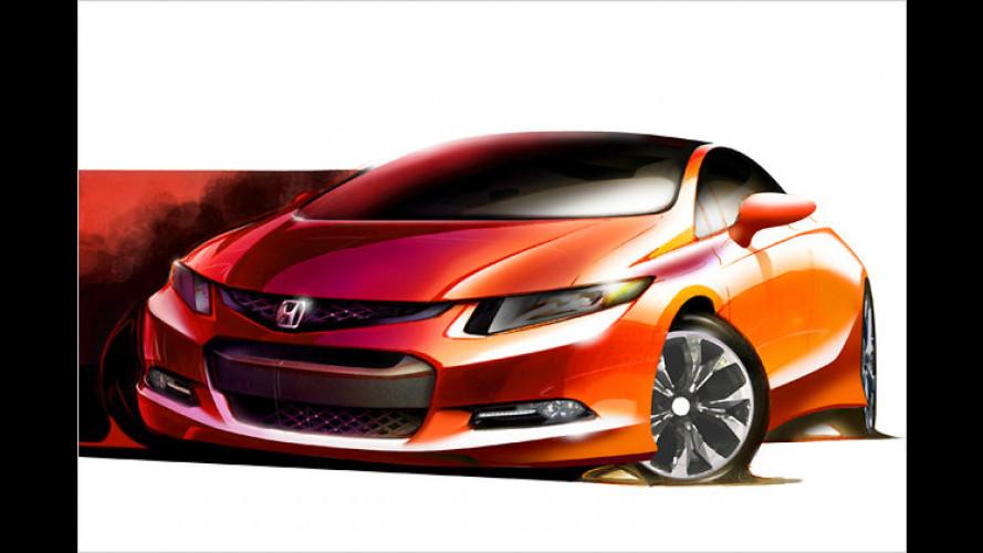 Honda-Civic-Studie in Detroit
