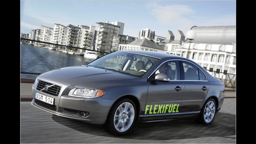 Volvo: Neues Flexi-Fuel-Triebwerk für V70 und S80