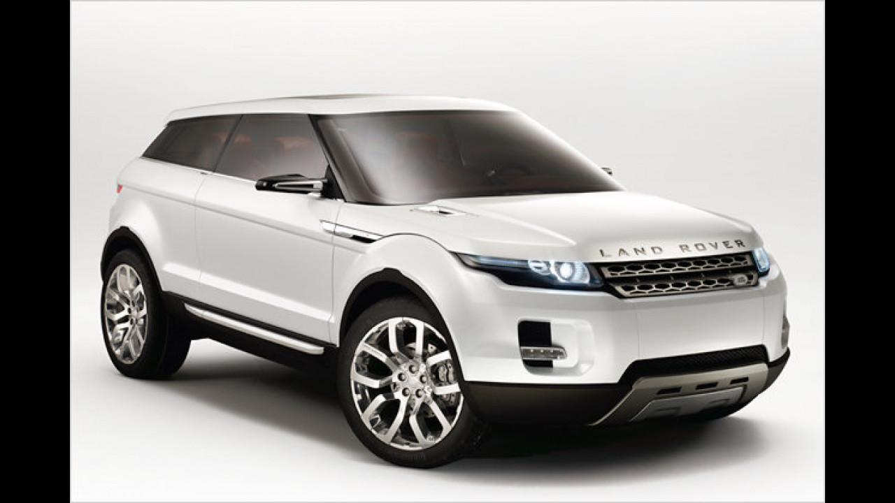 Aus dem Land Rover LRX ...