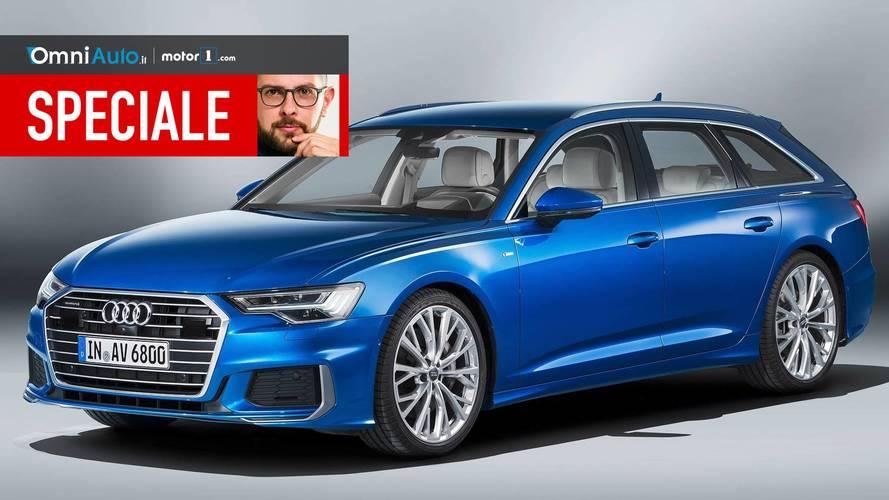 Nuova Audi A6 Avant, tradizione di famiglia