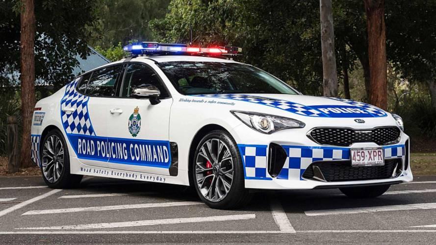 Australian Kia Stingers to chase down speeders for patrol duty