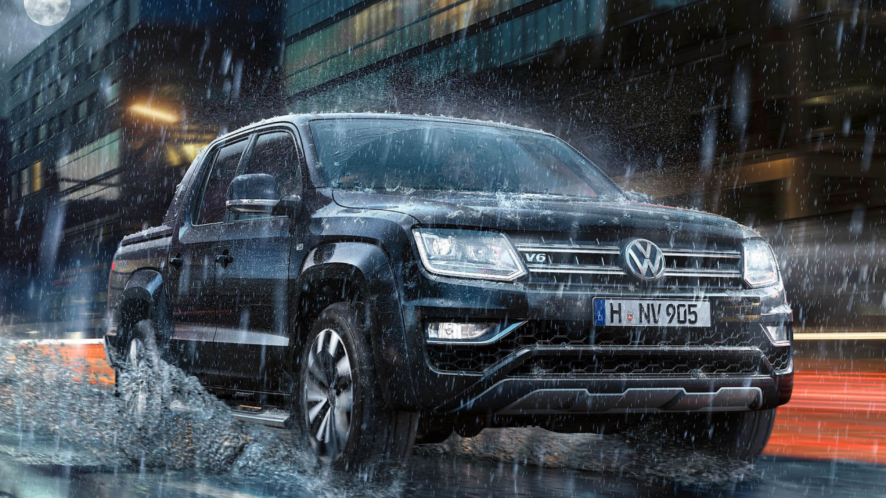 VW Amarok mit neuem Top-Motor