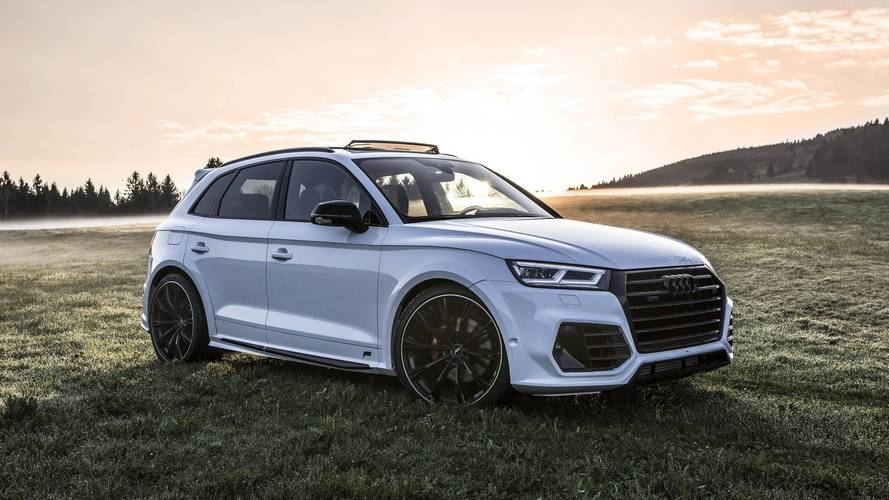 Audi Rs Q5 >> Audi SQ5 Upgraded By ABT Takes Scenic Route For Photo Shoot
