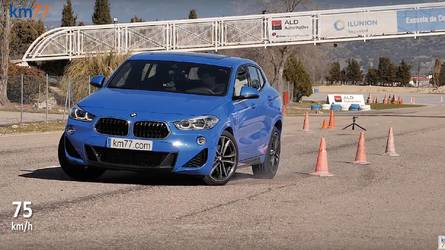 Watch A Volvo XC40 And BMW X2 Duel In The Dreaded Moose Test