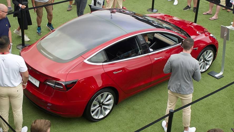 La Tesla Model 3 pour la première fois en Europe !