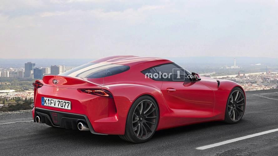 Toyota Supra 2019 renders