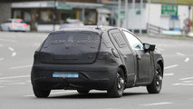 2016 SEAT crossover chassis testing mule spy photo