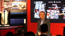 Ferrari Chairman Luca di Montezemolo presenting the Tailor-Made program 07.12.2011