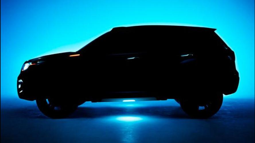 Suzuki iV-4, la nuova Vitara
