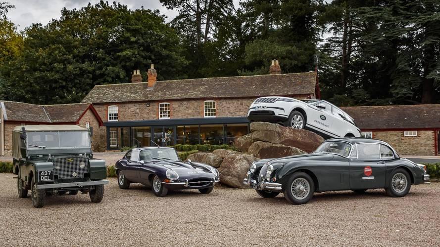 Des journées pour découvrir les modèles mythiques Jaguar et Land Rover !