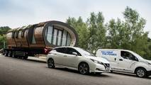Nissan e-NV200 sets world record for heaviest tow by an EV