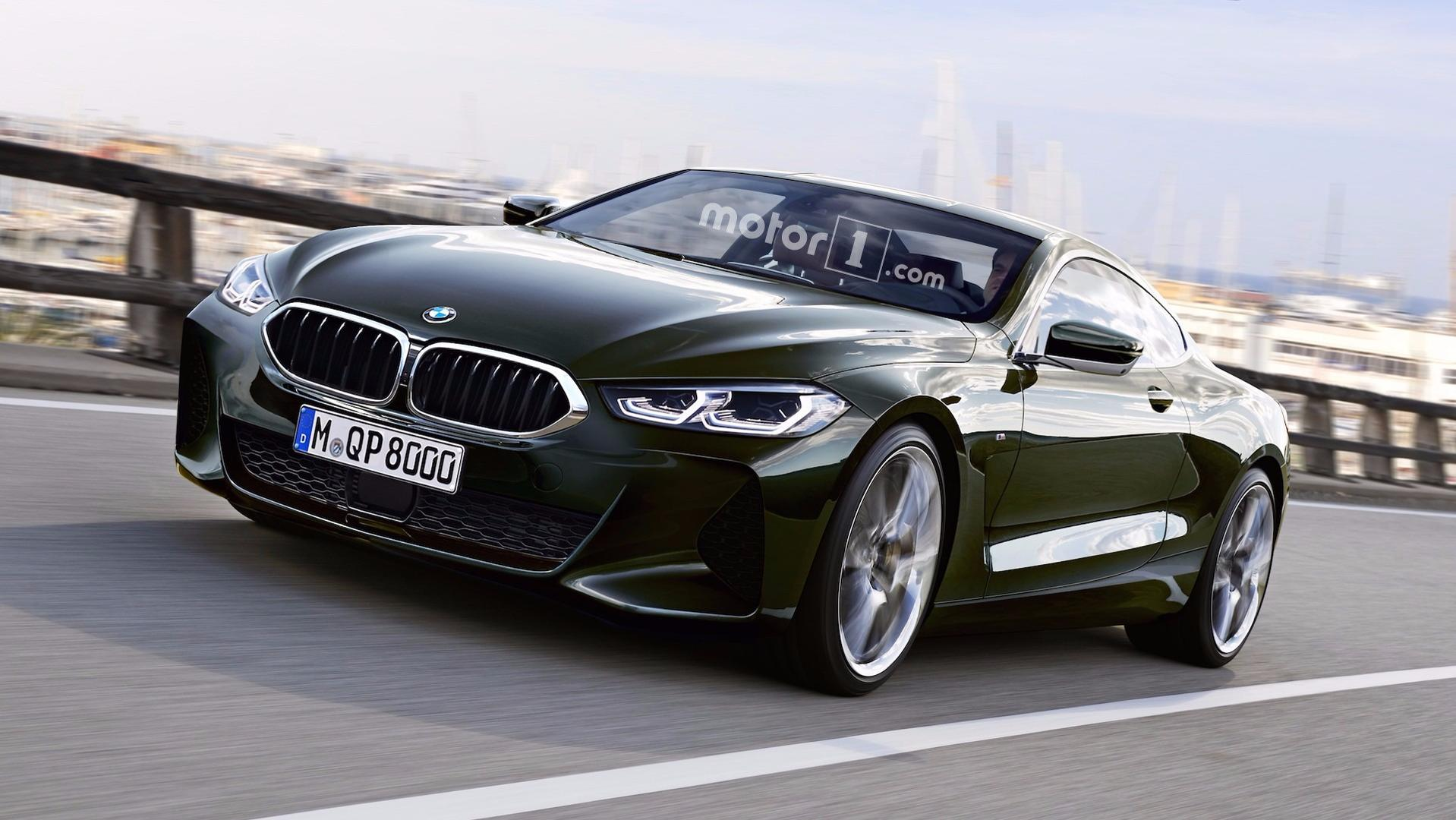bmw 8 series coupe cabrio renderings look ready for. Black Bedroom Furniture Sets. Home Design Ideas