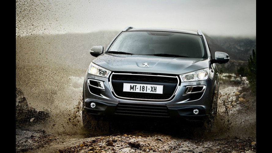 Peugeot UK dice no alla 4008