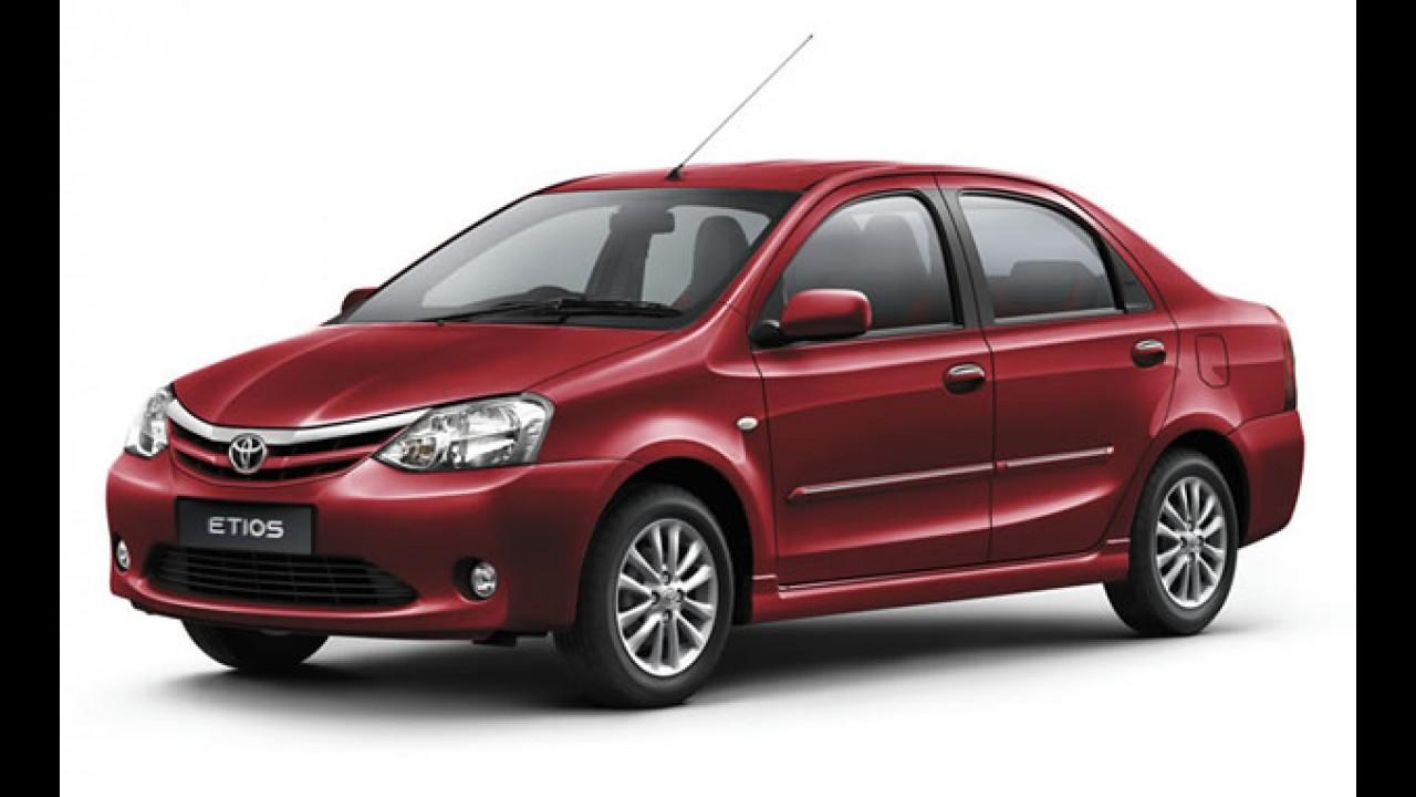 Toyota confirma chegada do Etios na Argentina - Compacto deve ser lançado no Brasil ano que vem