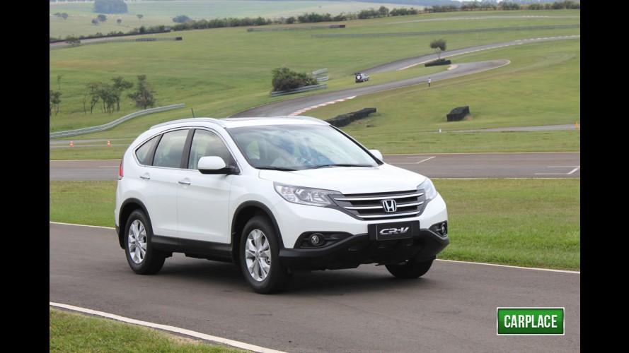 Honda CR-V com motor 2.0 Flex chega em abril