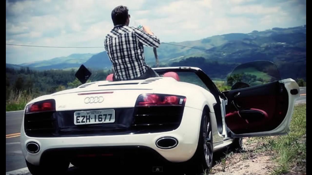 Bufalos TV: Audi R8 V10 Spyder e um cara de sorte