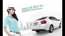 Honda City movido a gás é lançado na Tailândia