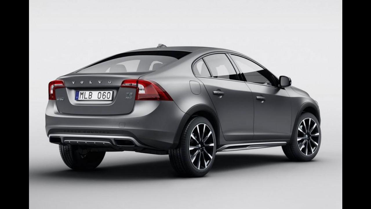 Sedã aventureiro? Volvo revela S60 Cross Country - veja fotos