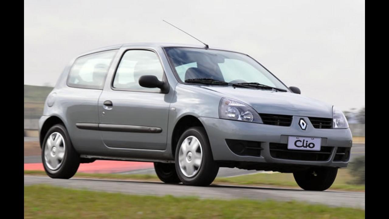 Na linha 2011, Clio passa a ser o 1º popular com 03 anos de garantia