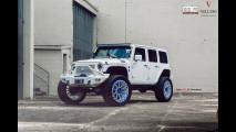 Jeep Wrangler by MC Customs, l'auto da rapper