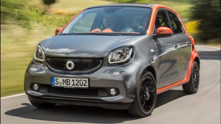 smart forfour, le donne ringraziano