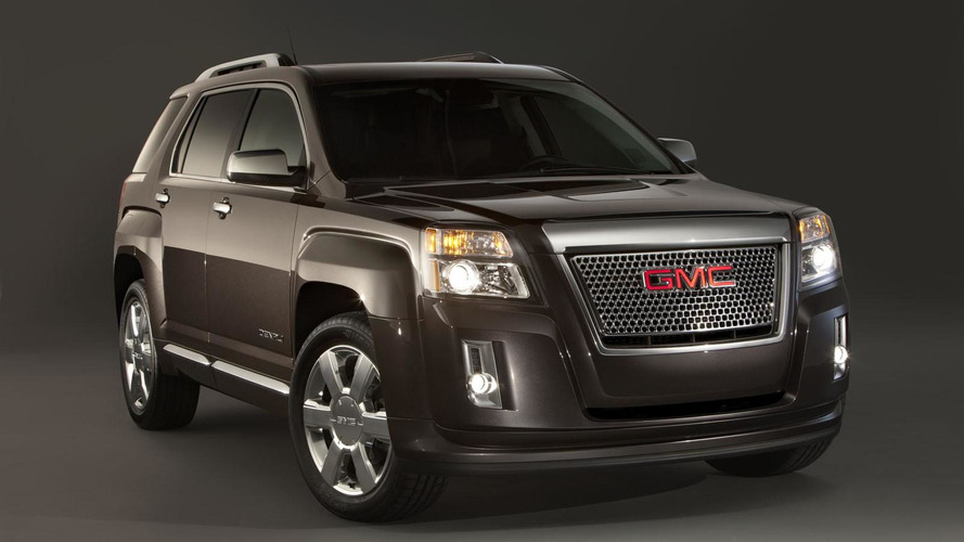2013 GMC Terrain Denali revealed