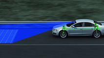 Audi predictive suspension identifies uneven road surfaces 01.03.2012