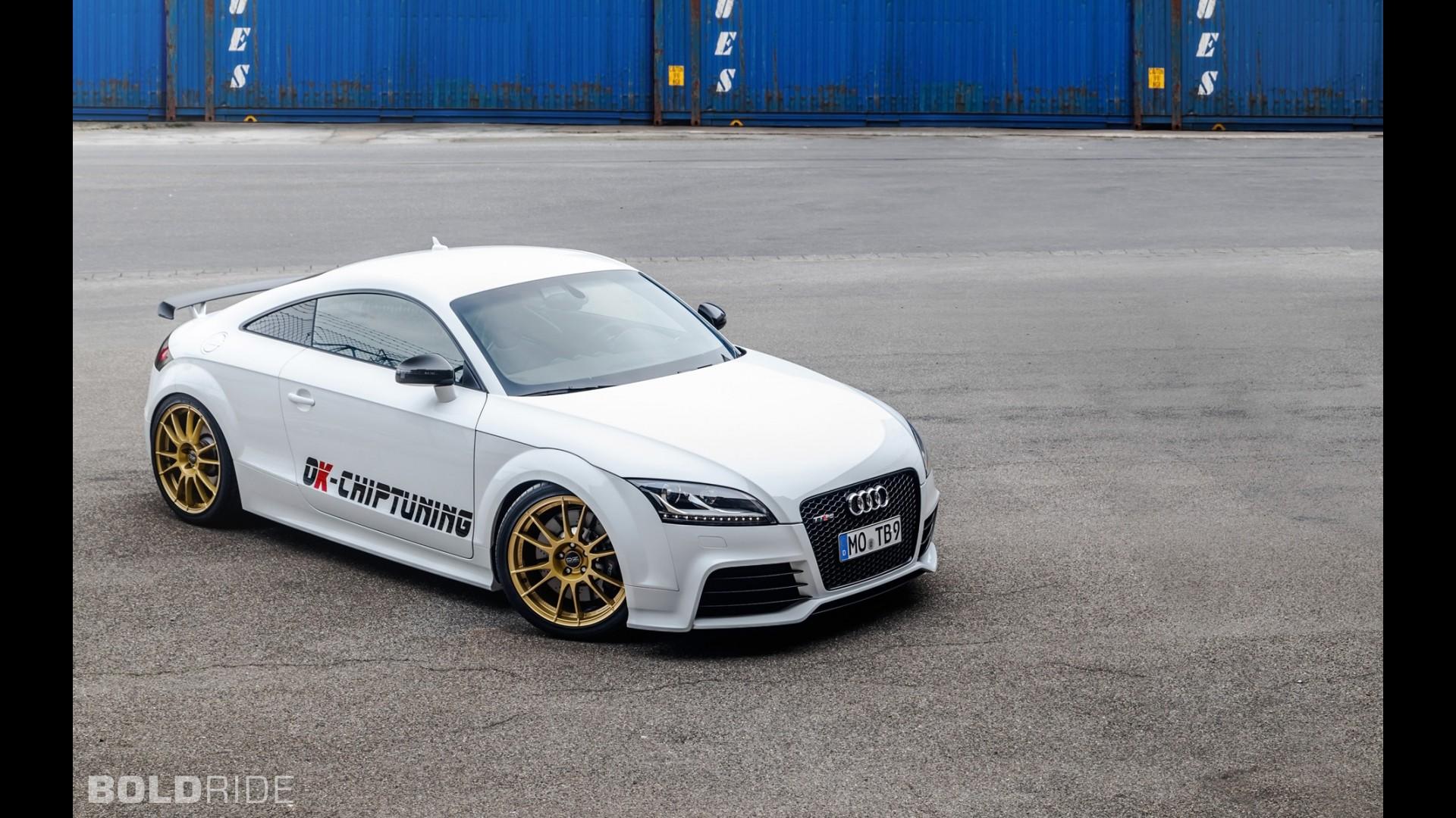 Спортивное купе Audi TT RS Plus от OK-Chiptuning