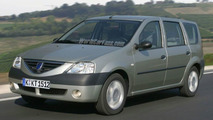 Dacia Logan Estate - Artist impression