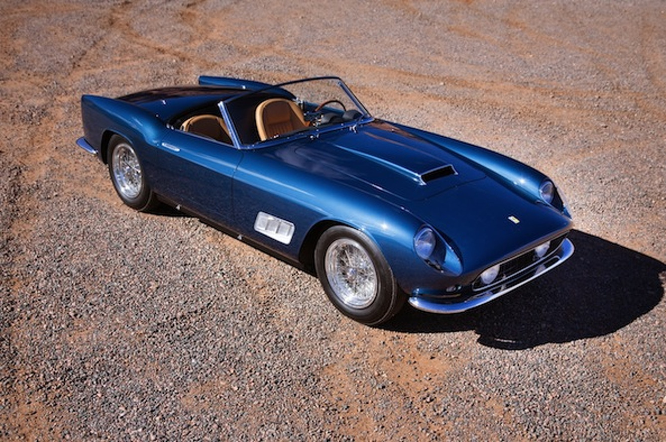 Gooding Auction: Ferrari 250 GT LWB California Spider Sets Record at $8.25M