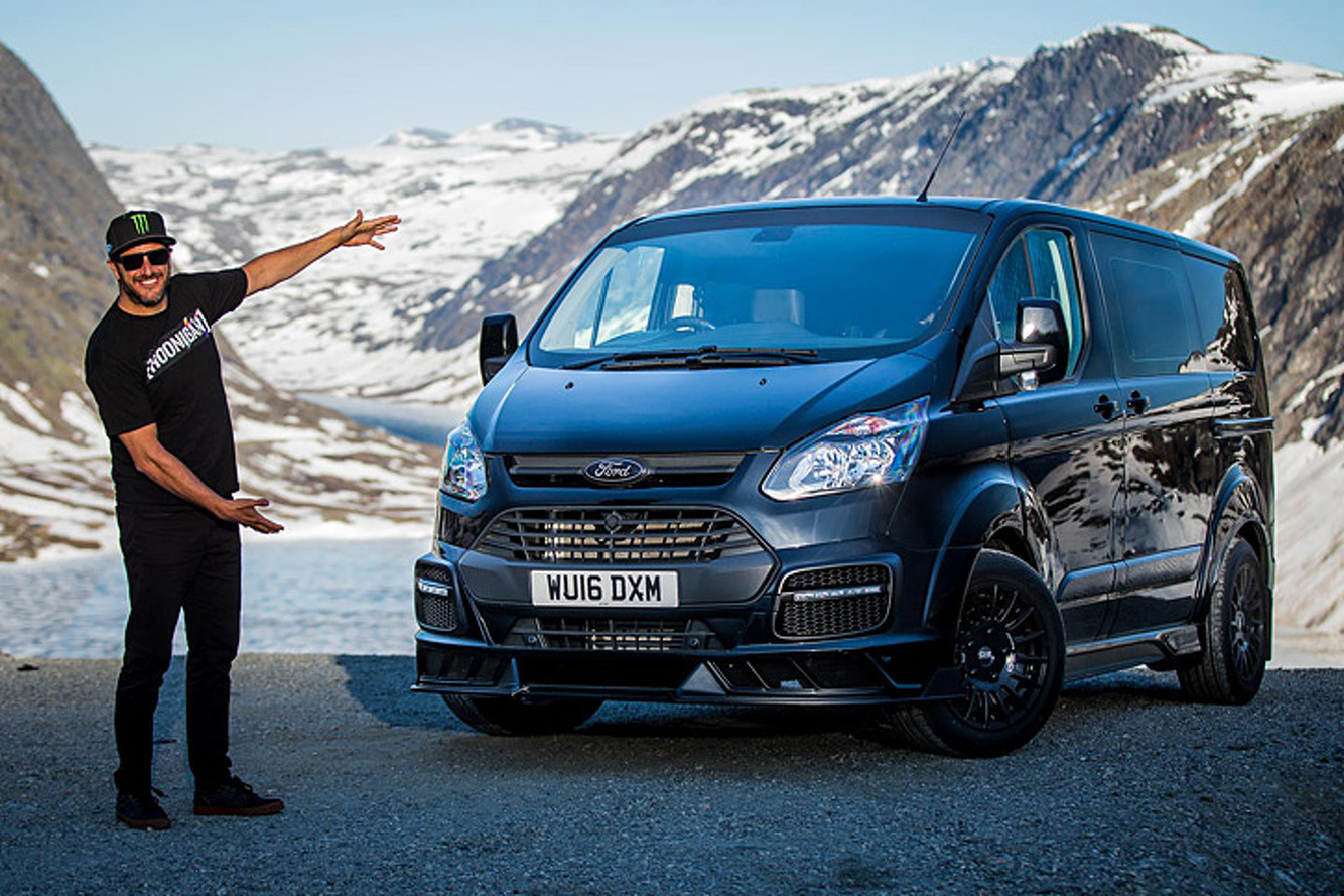 Ken Block Just Built the Coolest Ford Transit Van Ever