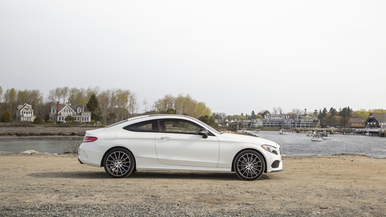 First drive 2017 mercedes benz c300 coupe for Mercedes benz c300 review 2017