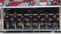 Christian Horner, Red Bull Racing, Sporting Director pit wall gantry