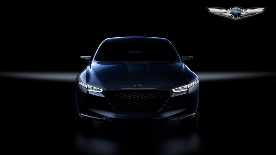 Genesis teases New York Concept, could preview 3 Series fighter [video]