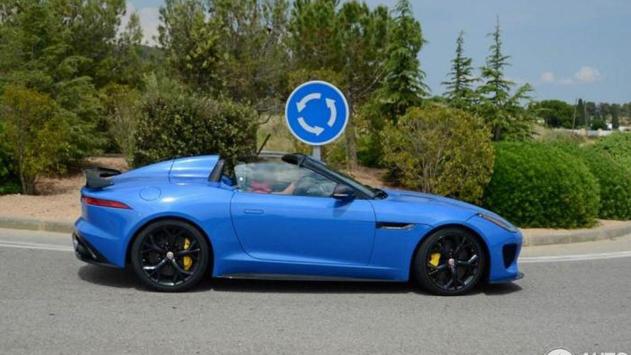 Jaguar F-Type Project 7 spotted in Spain