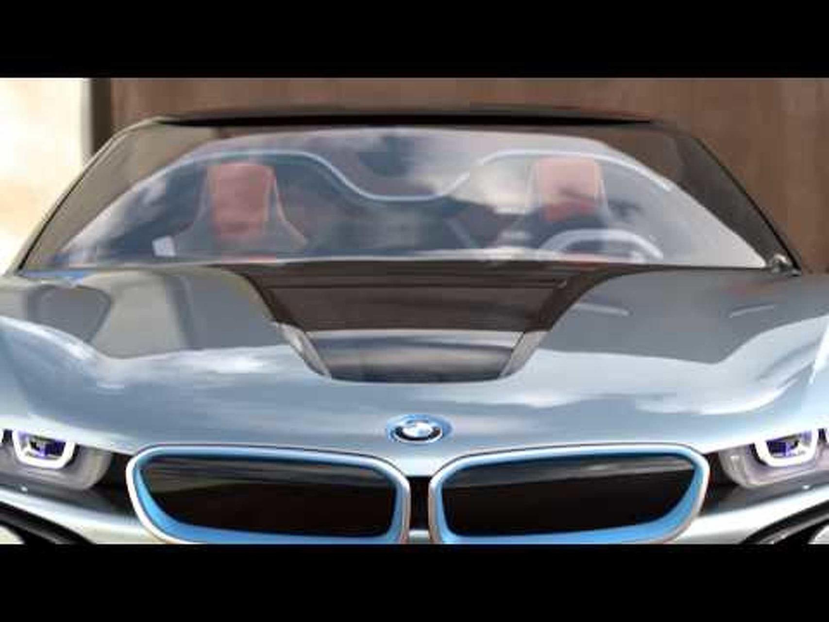 BMW i8 Concept Spyder Design