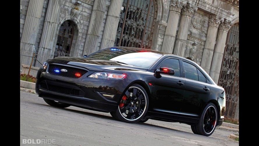Ford Stealth Police Interceptor Concept