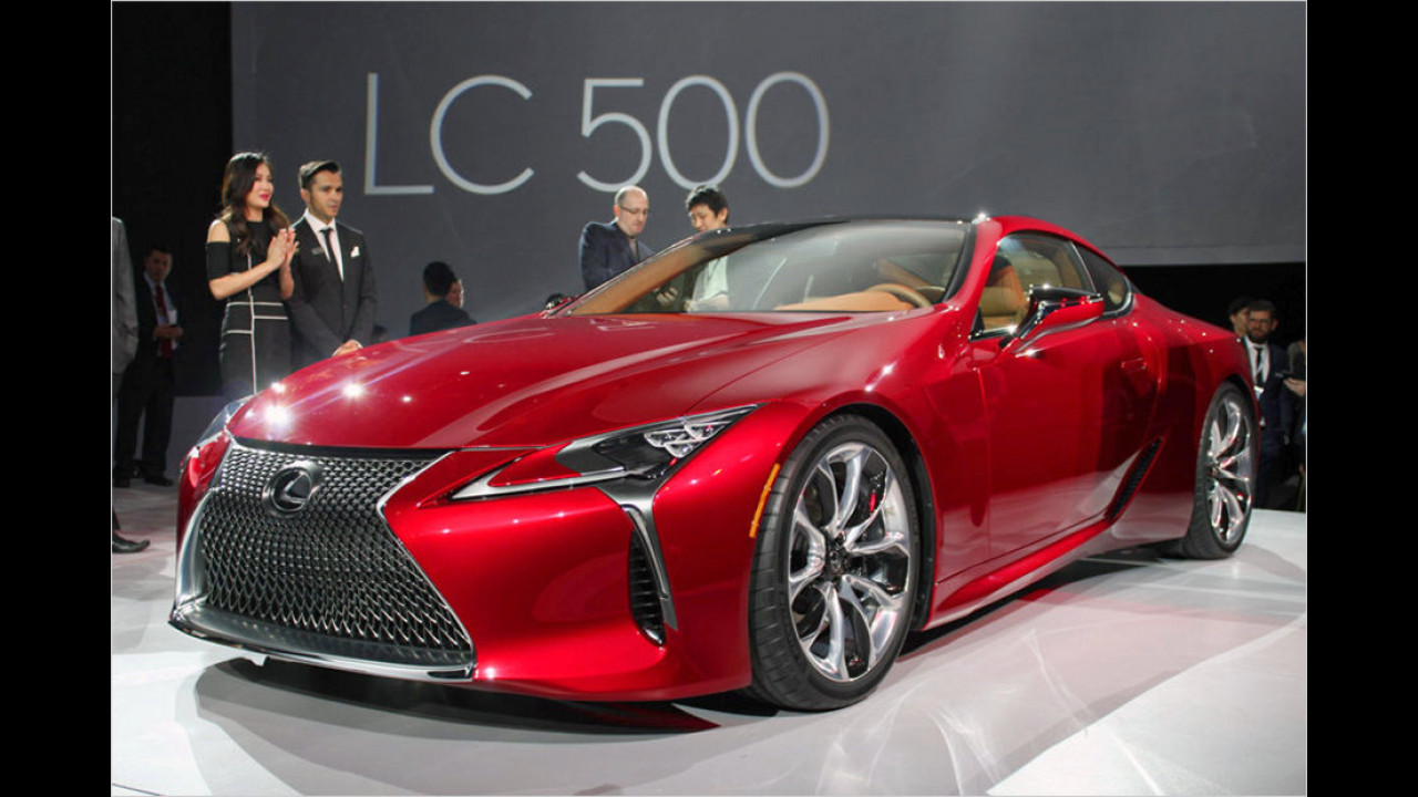 Lexus LC 500: Nobler Angriff